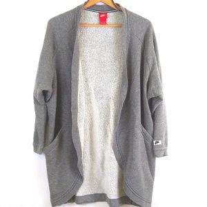 Nike tech modern sportswear cardigan sweatshirt S